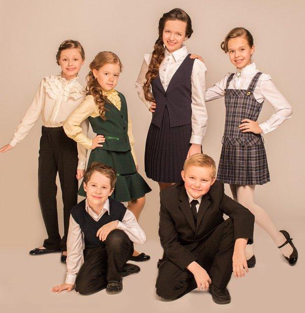 Новая коллекция детской одежды «Школа 2014» от «Росодежда»