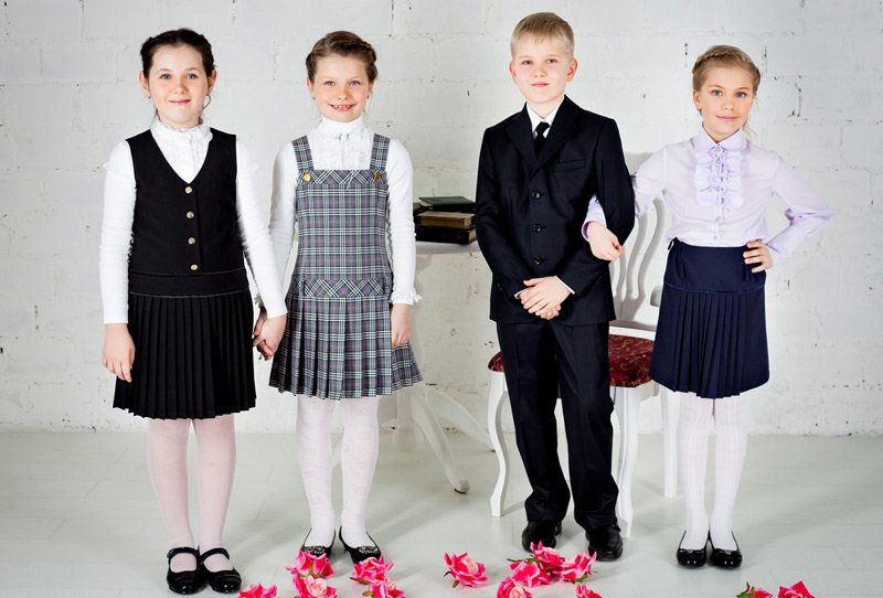 Фирмы детской школьной одежды