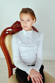 Блузки Белые Длинные В Нижнем Новгороде